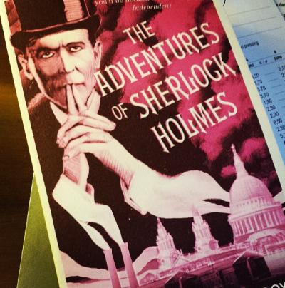 Sherlock Holmes Novel - London England