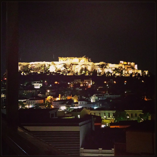 AthenStyle view of The Acropolis