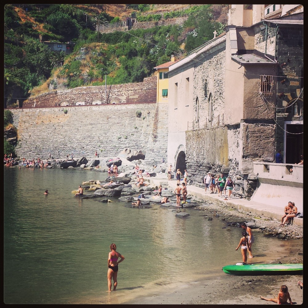 Vernazza, in Cinque Terre.