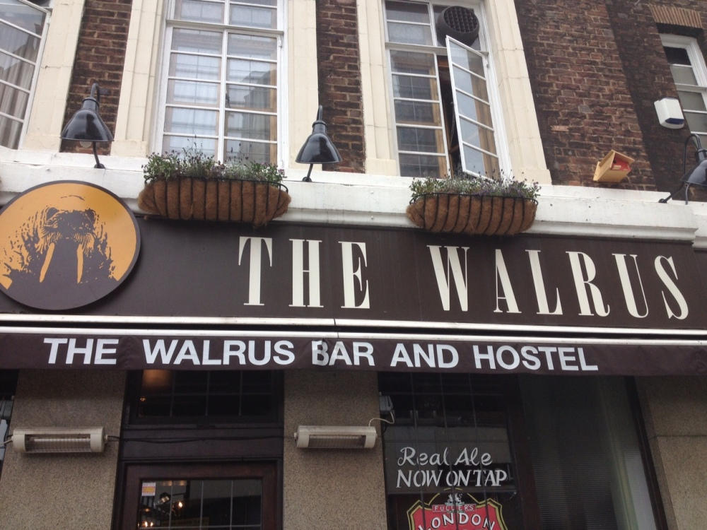 Walrus Waterloo in London 2