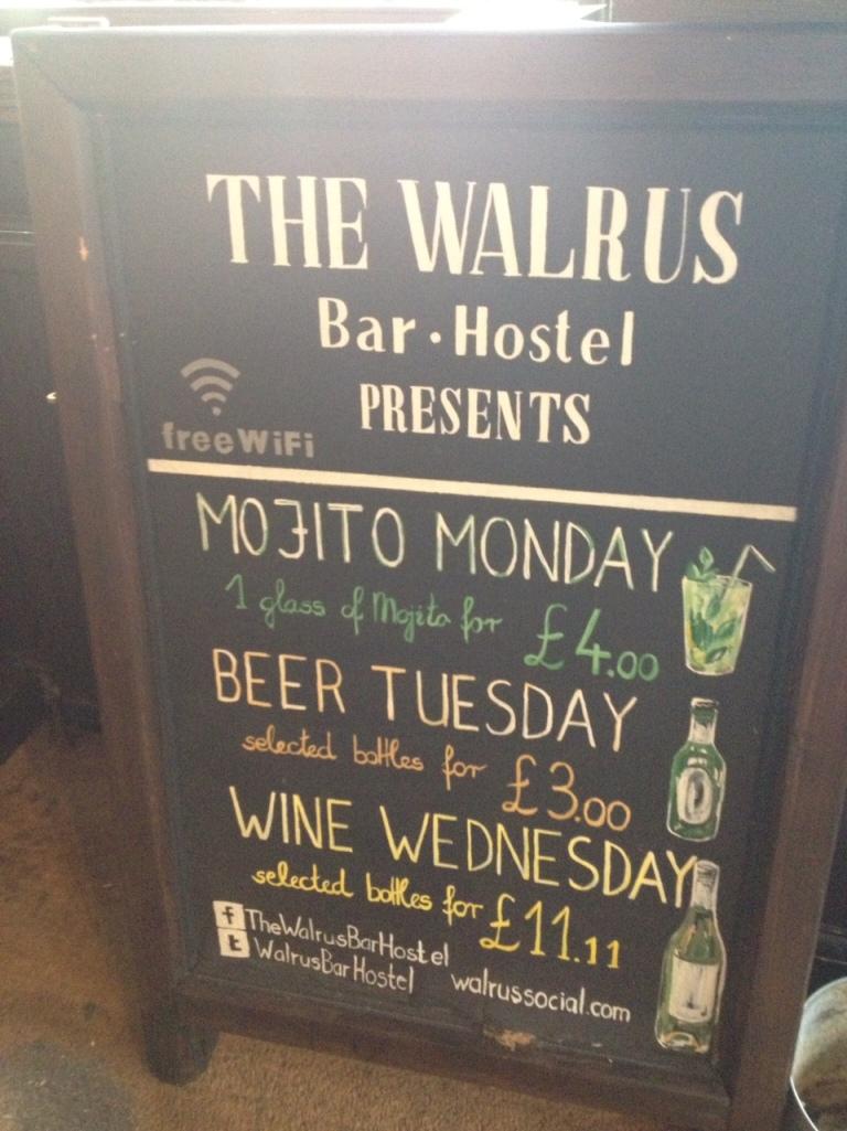 Walrus Waterloo in London 4