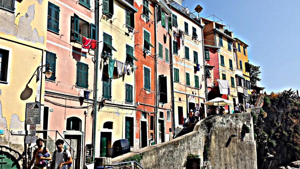 Riomaggiore in the Cinque Terre, Italy (Photo: Kolby Solinsky)
