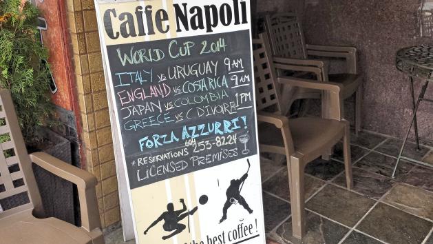 Italy - Caffe Napoli 7