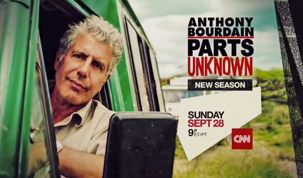 Season 4 of Parts Unknown starts in Shanghai, China on September 28, 2014. (YouTube screenshot: CNN)