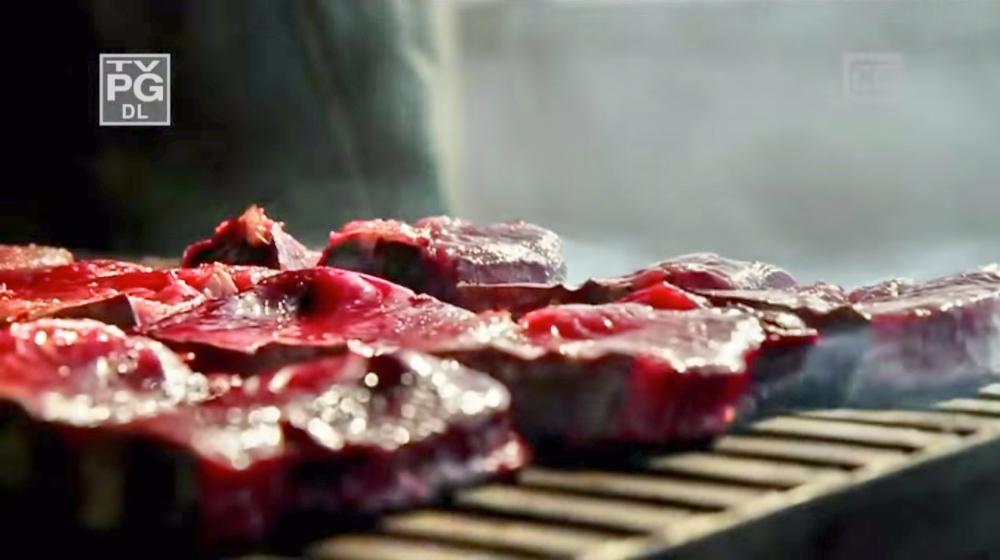 Plenty of meats, man. (Photo: YouTube Screenshot / Travel Channel)