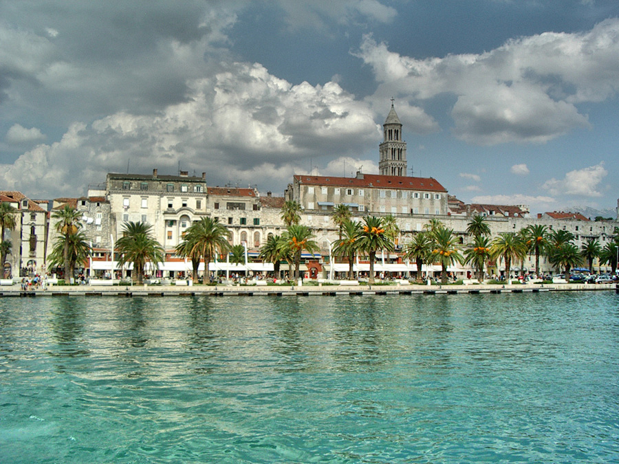 Split, Croatia (Photo: Wikimedia Commons)
