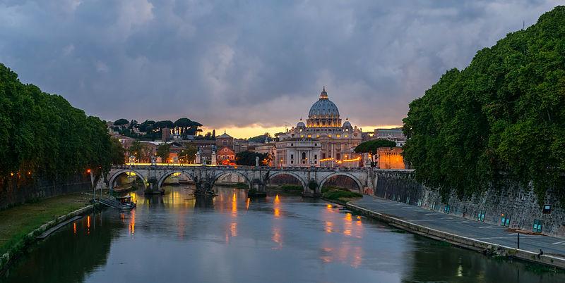 Rome, Italy – Photo: Wikimedia Commons, author Jebulon