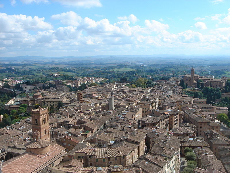 Siena, Italy – Photo: Wikimedia Commons, author Taty2007