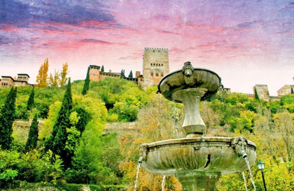 The Alhambra of Granada - Spain_Fotor